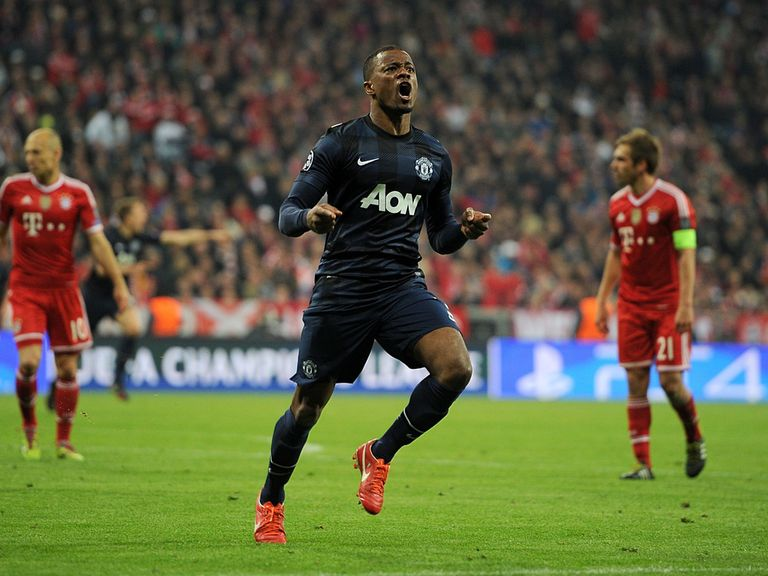 Patrice Evra: Manchester United exit confirmed
