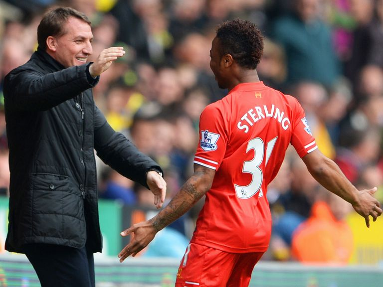 Raheem Sterling: Backed by Brendan Rodgers