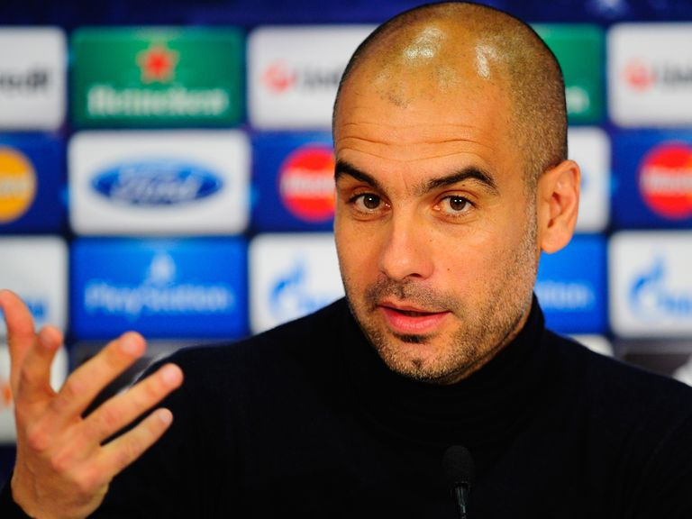 Pep Guardiola: Prepares for Champions League semi-final with Real Madrid