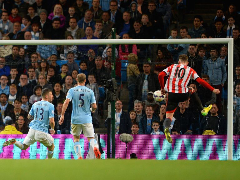 Sunderland claimed an unlikely draw at Manchester City