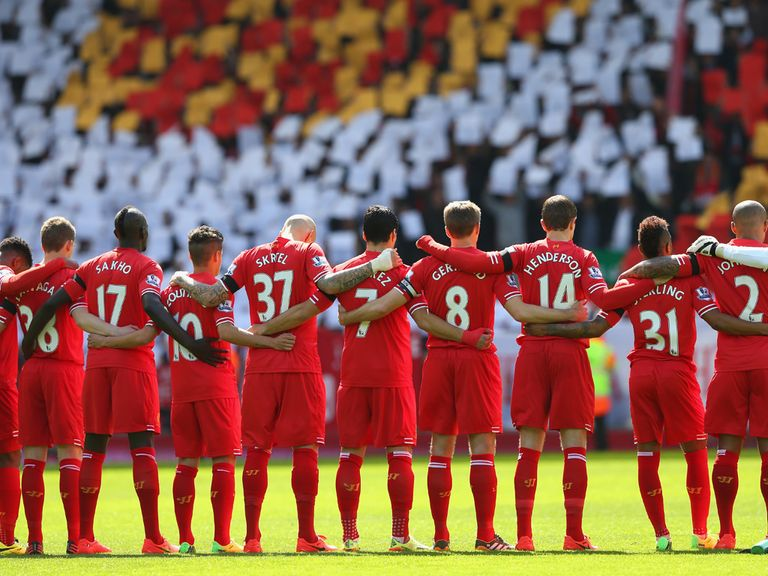 All the Liverpool players will attend the service at Anfield