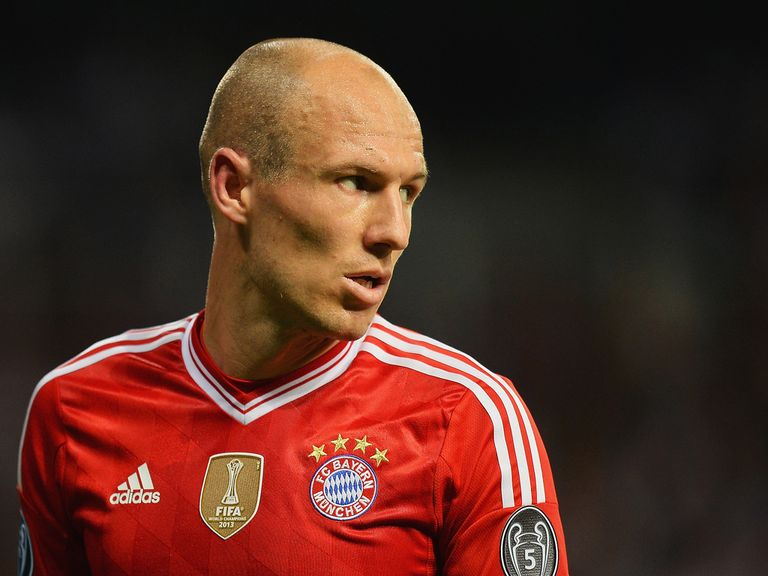 Robben: Upbeat ahead of the second leg against Real Madrid