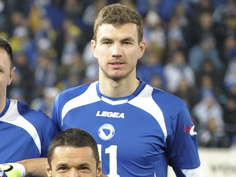 Edin Dzeko: A key part of Bosnia's World Cup squad
