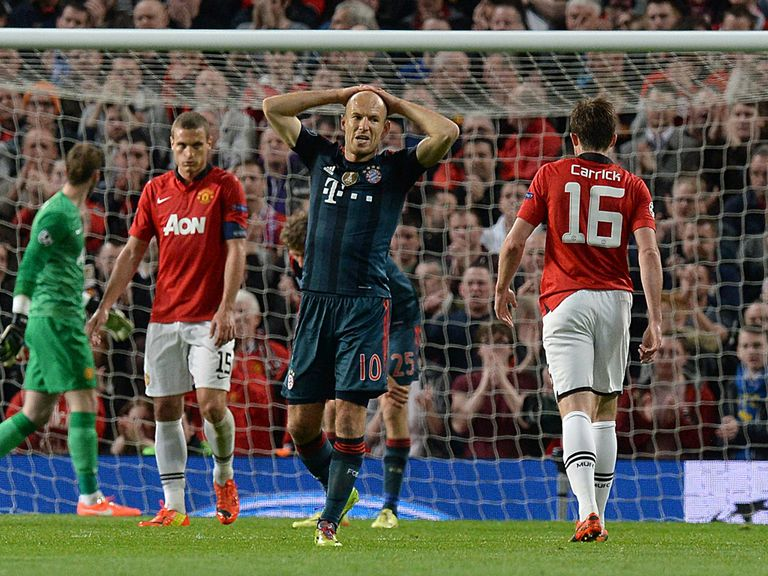 Arjen Robben: Not impressed with United's approach