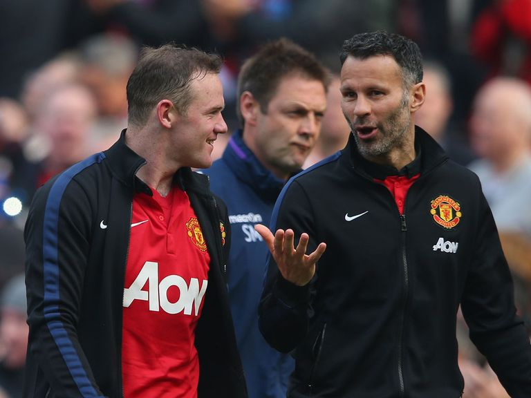 Ryan Giggs (right): Enjoyed a good day on Saturday