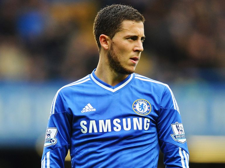 Eden Hazard: Reportedly the subject of a £61m bid from PSG