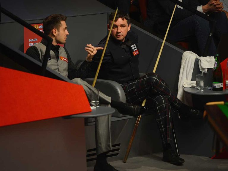 Mark Selby: Holds a narrow lead over Alan McManus