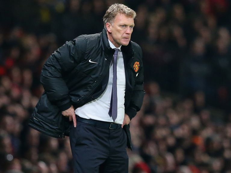 Moyes: Sacked as Manchester United boss on Tuesday