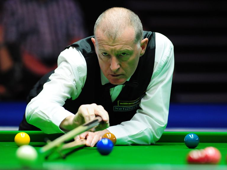 Steve Davis: Failed to book his Crucible spot