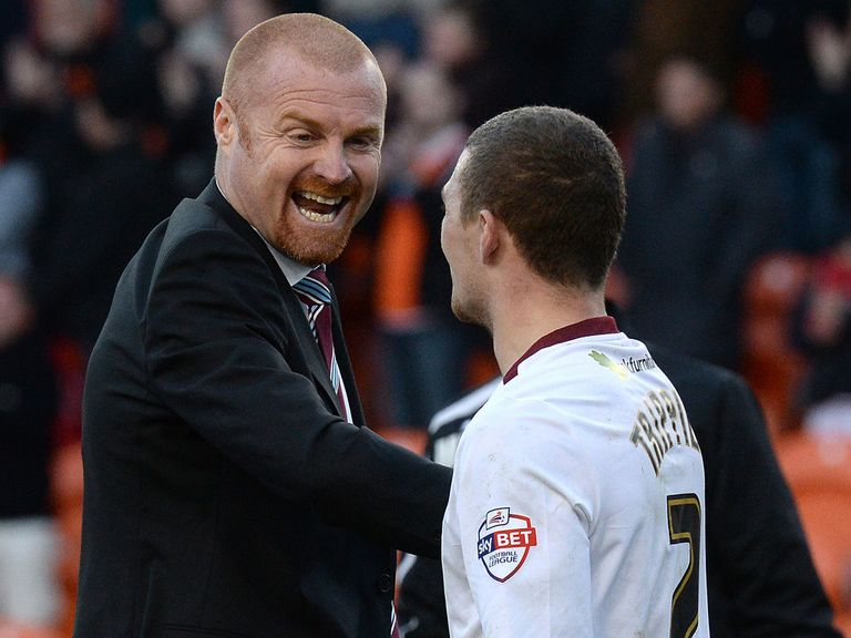 Sean Dyche: A shoo-in for manager of the year but fancied to lose on Monday