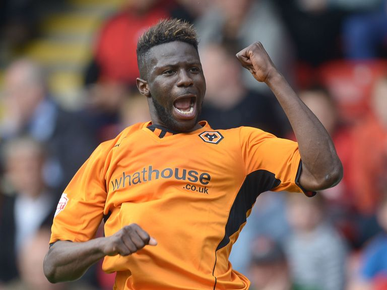 Bakary Sako: One of five Wolves players in the League One PFA Team of the Year