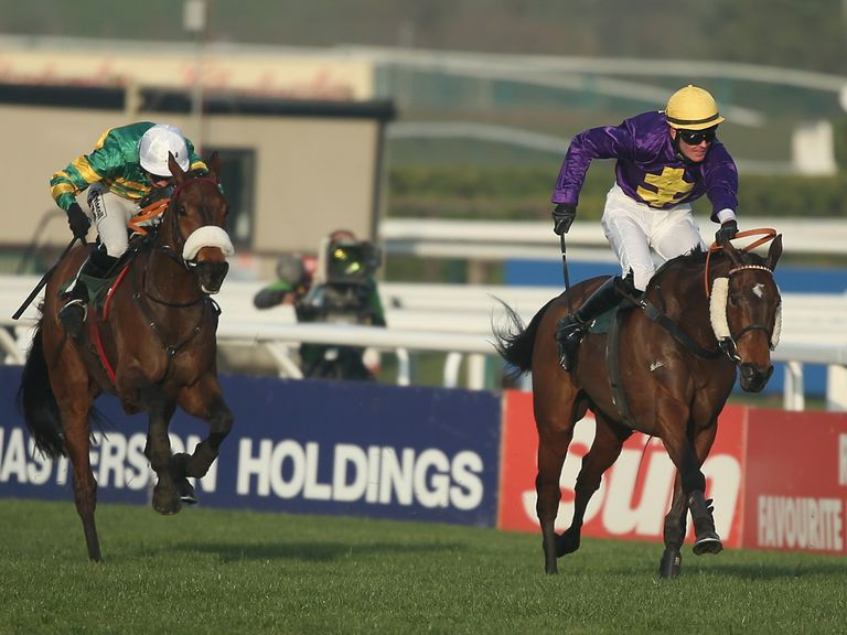 Cause Of Causes gives vain chase to Spring Heeled in the Kim Muir at Cheltenham - can he go one place better now?