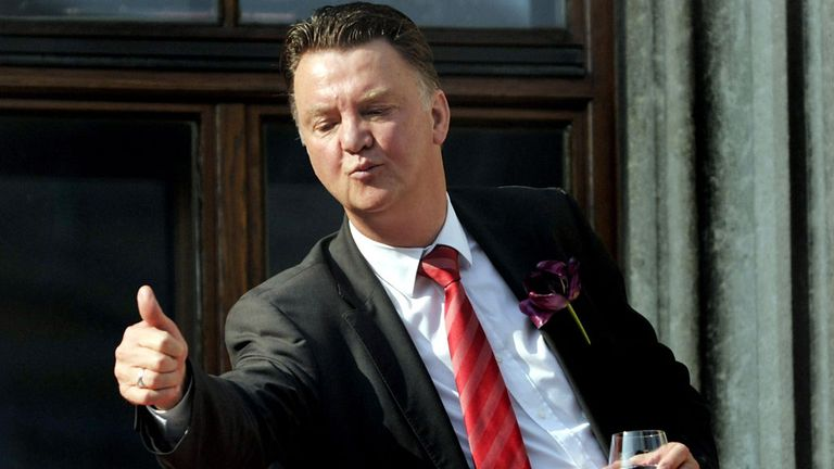 Louis van Gaal: Expected to be named as Manchester United manager next week