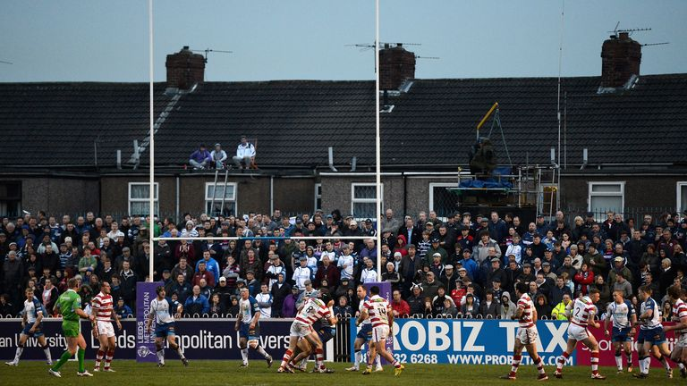 Featherstone: majority shareholder Feisal Nahaboo and chief executive Craig Poskett have left the club