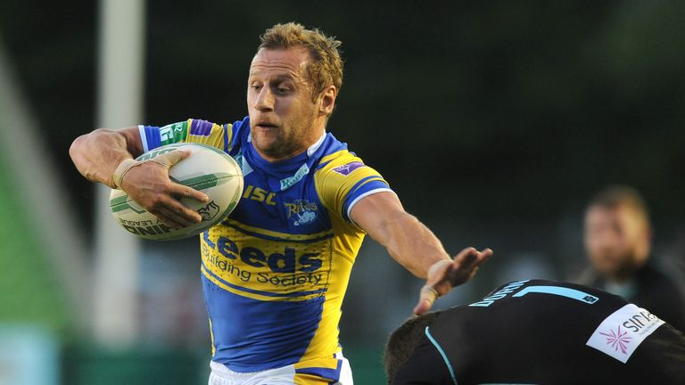 Rob Burrow: Pleased with how the Rhinos' season is progressing