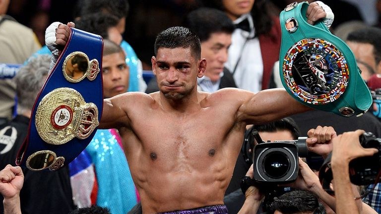 Amir Khan: Eyes on Mayweather