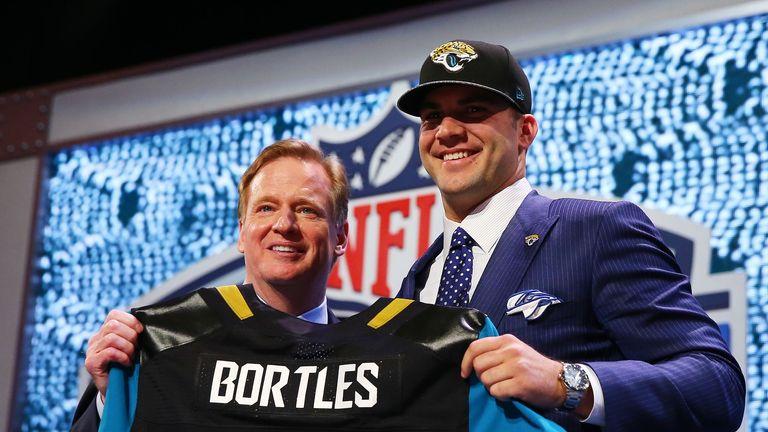 Jaguars new boy Blake Bortles (R) looks like a team leader, says Neil