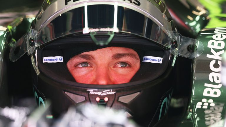 Nico Rosberg: Fastest in P3
