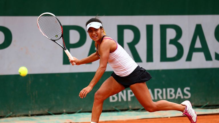 Heather Watson: Has qualified for the first round at Roland Garros