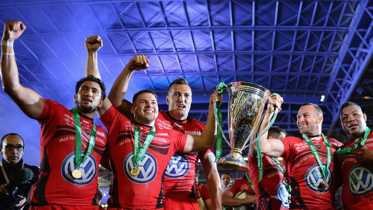 Defending champions: Toulon will be determined to retain their title
