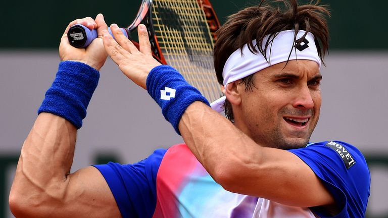 David Ferrer: Forced to withdraw from the Topshelf Open through illness