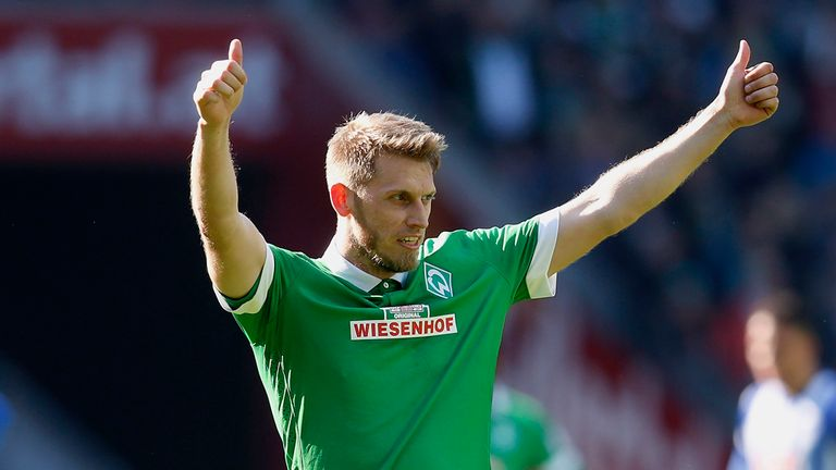 Aaron Hunt: Could yet remain at Werder
