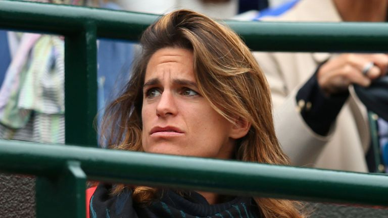Amelie Mauresmo: Has been linked to a coaching role