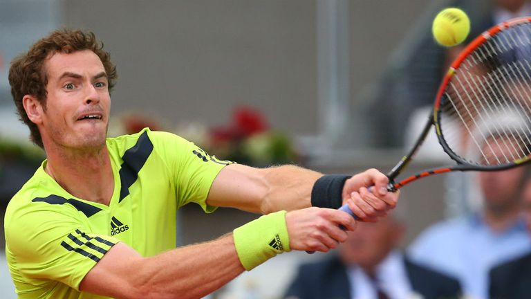 Andy Murray: The British No 1 overcame Nicolas Almagro in Madrid