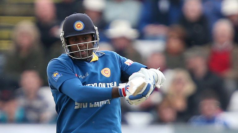 Angelo Mathews: series tied at 1-1 with three to play