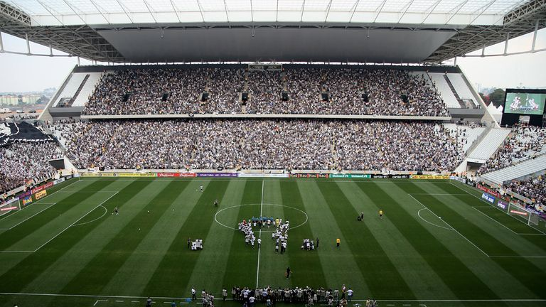 England will tackle Uruguay inside the Arena de Sao Paulo on Thursday night