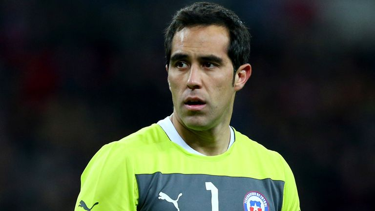 Claudio Bravo: Focused on World Cup duties with Chile