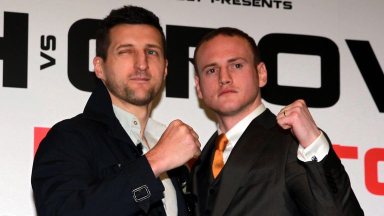 Unfinished Business: Carl Froch is the favourite with the bookmakers