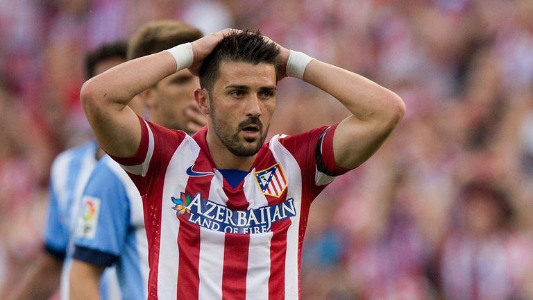 David Villa: Will be leaving Atletico this summer