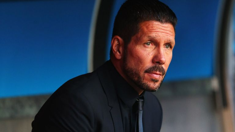 Diego Simeone: Handed a one-match ban