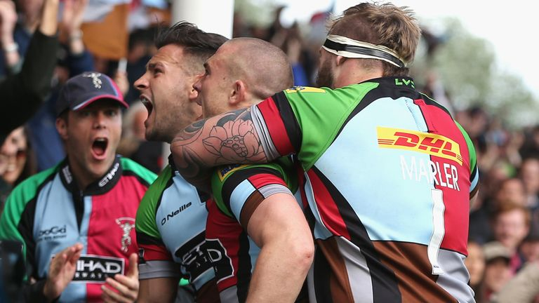 Harlequins: On the charge