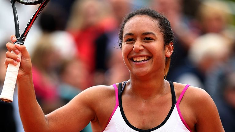 Heather Watson: Has returned to form this year after a difficult 2013