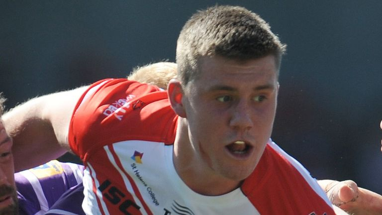 Joe Greenwood: Committed his future to St Helens