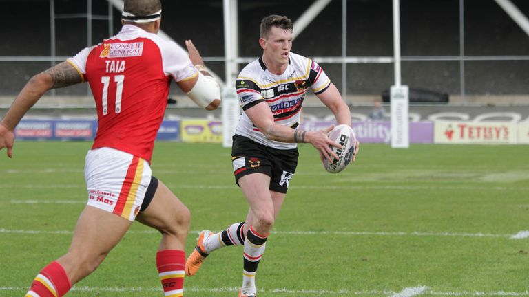 Lee Gaskell: Hoping to get one of his old club Salford