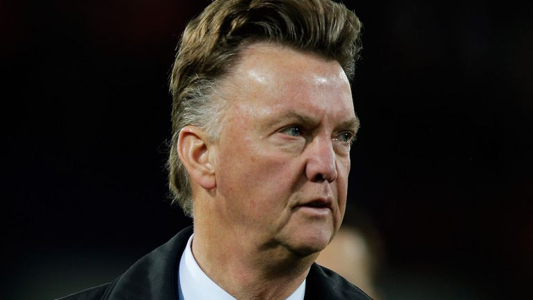 Louis van Gaal: Under pressure to win trophies, according to Chris Coleman