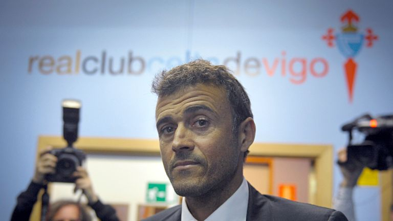 Luis Enrique: Widely expected to be named the next Barcelona manager