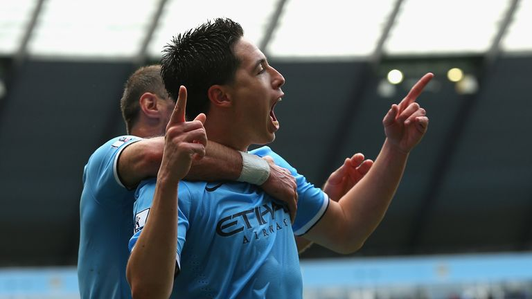 Samir Nasri has been a leading light for City this season