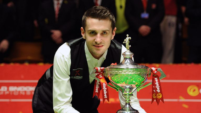 Mark Selby: Dedicated the win to his late father