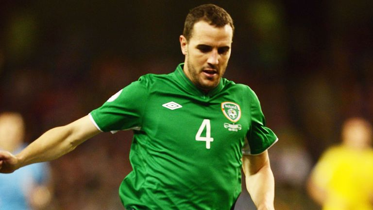 John O'Shea: Out of Ireland squad