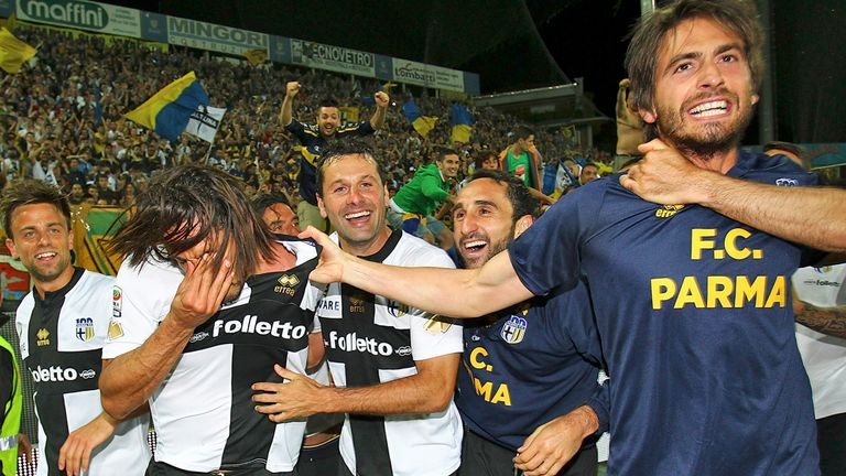 Parma: Denied a UEFA license to play in next season's Europa League
