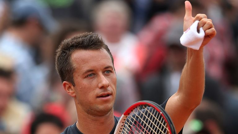 Philipp Kohlschreiber is in good form at the moment