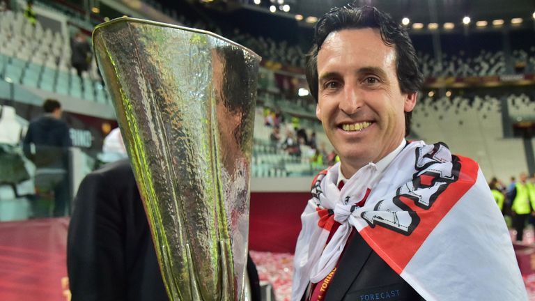 Unai Emery: Set to stay at Sevilla