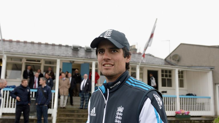 Alastair Cook: Pleased that the game was played