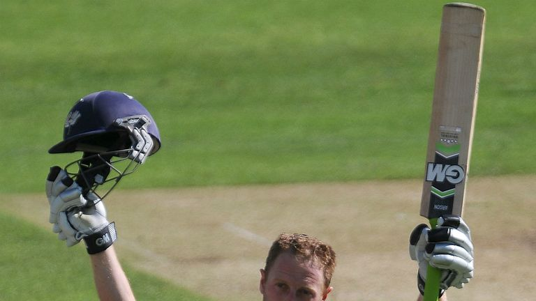 Andrew Gale: Yorkshire captain scored his first century of the season