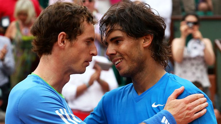 Murray was beaten by Nadal in the 2011 semi-final at Roland Garros