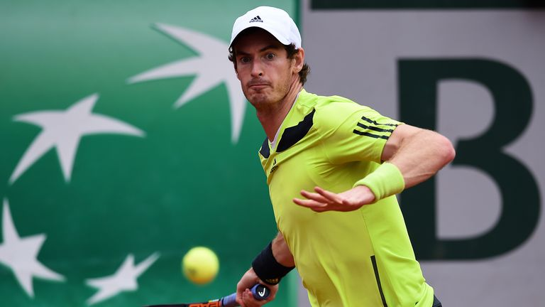 Andy Murray: Needed four sets to see off Andrey Golubev